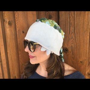 Handmade hat , fleece/wool